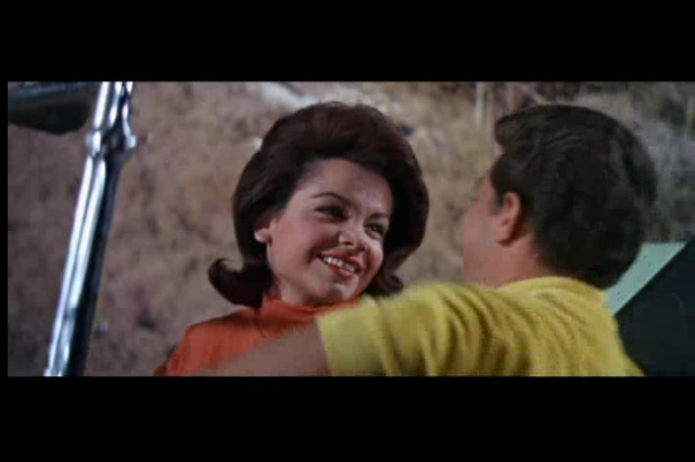 Annette Funicello as Dee Dee in Muscle Beach Party, 1964